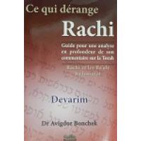 Ce qui dérange Rachi - Devarim - Dr Avigdor Bonchek
