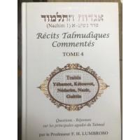 Hagadot Hatalmoud - Récits talmudiques commentés - Tome 4