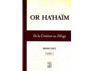 Or Ha'Haim - De la création au Déluge - Tome 1